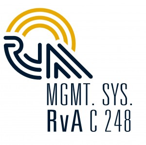 mgmt. sys. RvA C 248 certification